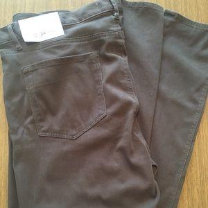 Dark Greige Loft Jeans